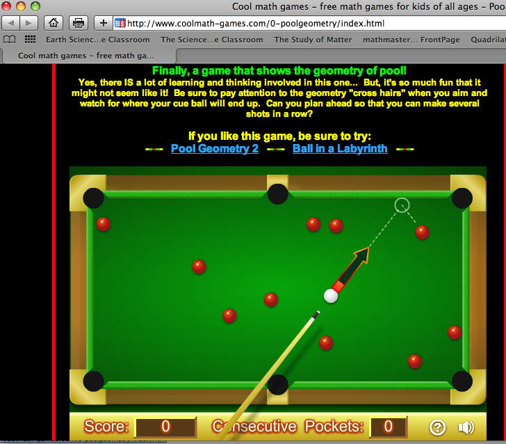 play cool pool online free